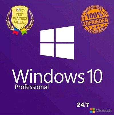 Windows 10 Professional Activate Product Key/Code Win 10 Pro Instant Send