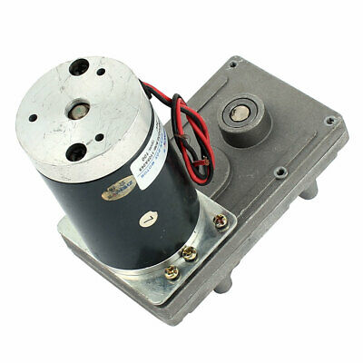 DC24V 100RPM High Torque DC Worm Turbo Gear Box Motor Speed Reducer