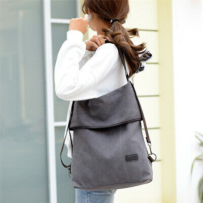 Women Shoulder Messenger Bag High Capacity Multi-Function Shoulder Bag CanvasST