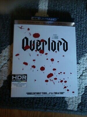 Overlord 4k Blu Ray DVD digital copy⭐BRAND NEW⭐BUY IT NOW FOR LESS THAN $10⭐