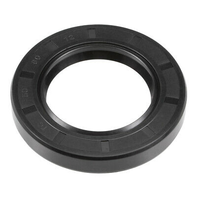 Oil Seal, TC 50mm x 80mm x 12mm, Nitrile Rubber Cover Double Lip