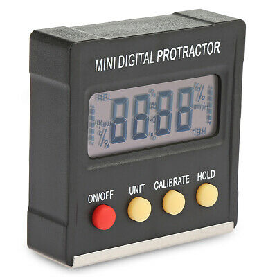 Digital Protractor Inclinometer Electronic Magnetic Base Angle Measuring Meters