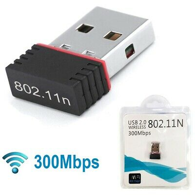 Chiavetta WiFi Mini Usb 150Mbps Dongle Adattatore Wireless WLAN 802.11N ANTENNA