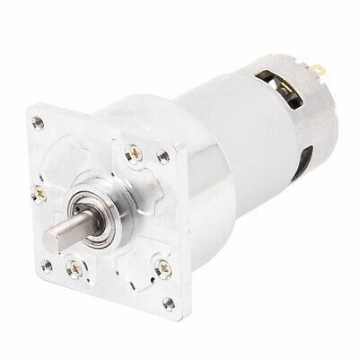 DC 24V 200RPM High Torque 8mm Shaft Dia Electric Low Speed Solder Gear Box Motor