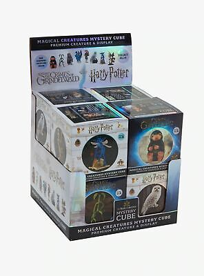 SET COMPLETO 8 FIGURE 9cm Harry Potter Magical Creatures Mystery Cube ORIGINALE