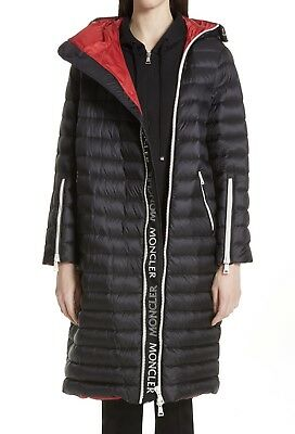 d5a727498 NEW AUTHENTIC MONCLER Bruant Belted Utility Coat NWT Black ...