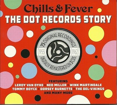 Chills & Fever The Dot Records Story 1955 - 1962 - 3 Cd Box Set