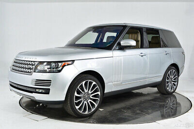 2016 Land Rover Range Rover Autobiography V8 Supercharged emi-Aniline Extended Leather Massage Memory Climate Meridian Camera 22 Diamond