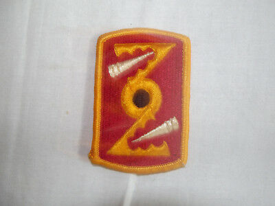 72nd FIELD ARTILLERY BRIGADE PATCH SUBDUED COLOR:K3