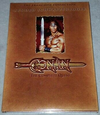 Conan: The Complete Quest DVD  2 Movies/The Barbarian/The Destroyer