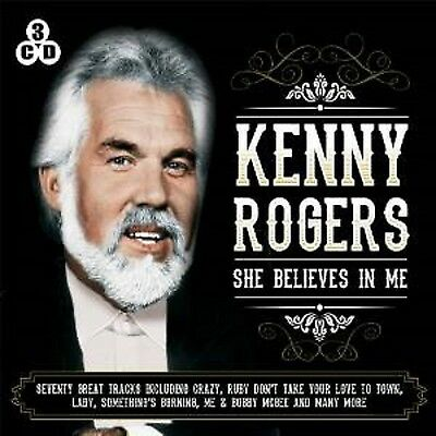 Kenny Rogers She Believes In Me 3 Cd Box Set