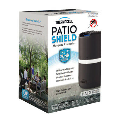 Thermacell Halo Patio Shield Brown/Black 1-count Vapor Mosquito Repellent