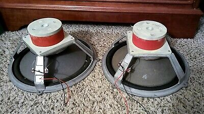"""Wharfedale Vintage 12"""" Woofer One Pair Red Alnico Magnet"""