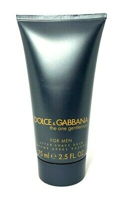Dolce & Gabbana The One Gentleman After Shave Balm ~ 2.5 oz ~