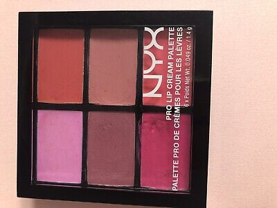 nyx soft matte lip cream palette