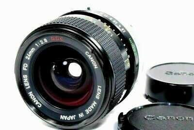 **MINT++** Canon FD 24mm f/2.8 S.S.C MF Wide Angle Lens SSC from Japan #400