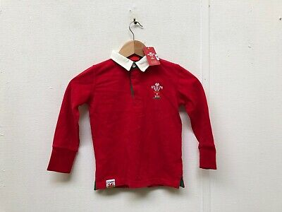 Welsh, Wales, Boys, Girls, Kids, Rugby, Nations, Union WRU Official Childrens Red Waterproof Jacket