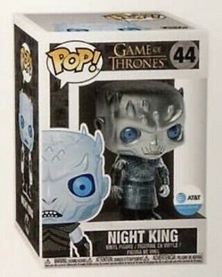 METALLIC NIGHT KING - Funko Pop Game Of Thrones AT&T Exclusive Pre-Order