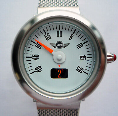 Rare Mini John Cooper Works S Jcw Speedometer Classic Racing Car