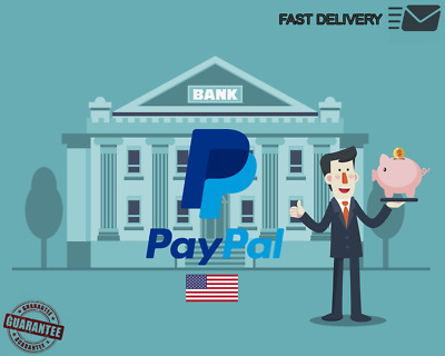 VBA For USA PayPal Verification Virtual Bank Account - Fast delivery