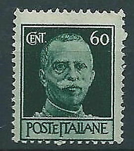 1945 Luogotenenza Imperiale 60 Cent Ruota Mnh ** - Rr13150