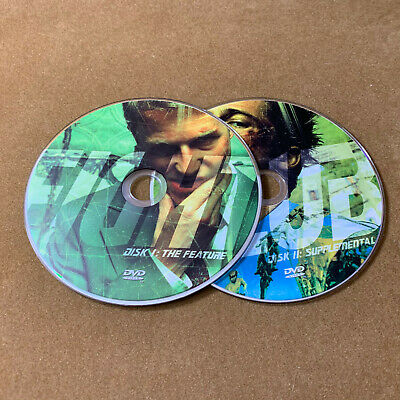 Fight Club (DVD, 2-Disc Special Edition) Discs Only  34-107