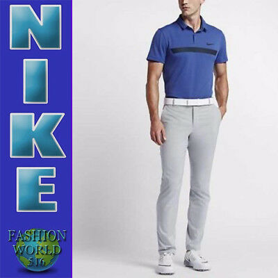 d7188010 Nike Golf Men's Size 2XL Momentum Fly Sphere Graphic Polo Modern Fit 802834  Blue
