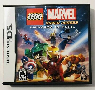 LEGO Marvel Super Heroes  Universe in Peril Nintendo DS  2014  No Game