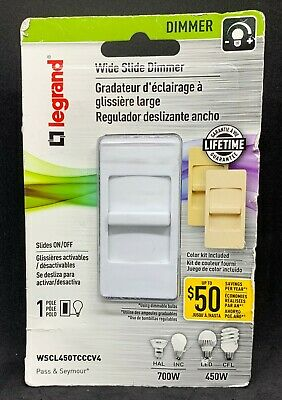 Legrand Pass Seymour WSCL450TCCCV4 Wide Slide Dimmer Color Kit FREE SHIPPING