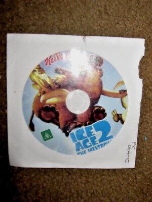 Kellogg's Ice Age 2 The Meltdown PC Activity game for PC and Macs