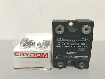 New Crydom D4D07 Solid State Relay