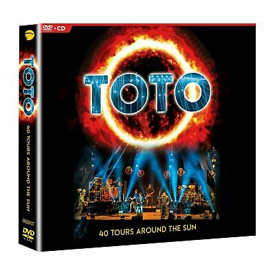 TOTO 40 TOURS AROUND THE SUN DVD & 2-CD EDITION (Released March 22nd 2019)