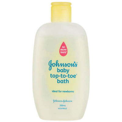Original Johnson's Baby Top to toe Baby Wash Tear Free Bath 110ml Baby Care