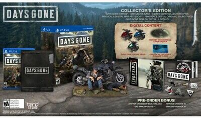 PREORDER Days Gone Collector's Edition Playstation PS4