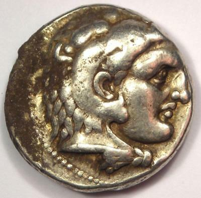 Alexander the Great III AR Tetradrachm Coin - 336-323 BC - VF (Very Fine)!