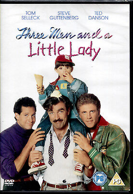 TRE SCAPOLI E UNA BIMBA (three men and a little lady) - DVD NUOVO E SIGILLATO