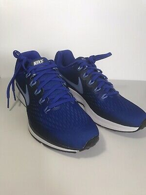157fb07f210 MEN S NIKE AIR ZOOM PEGASUS 34 RUNNING SHOE HYPER ROYAL 880555 409 ...