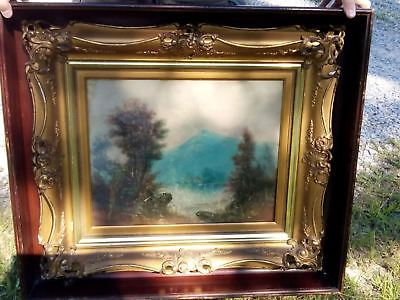 Painting signed by William Henry Chandler (American, 1854-1928)