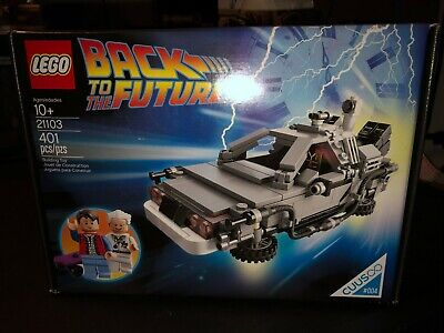 LEGO Back to The Future DeLorean time machine (21103) new Sealed retired set