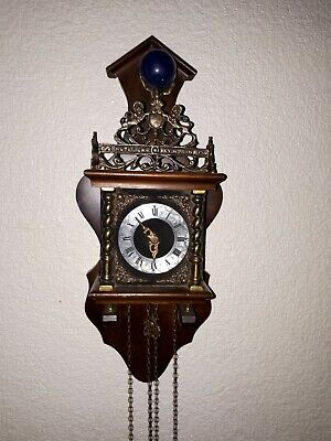 Old Antique Dutch Zaandam clock