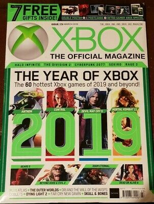 XBOX The Offical Magazine March 2019 The Indie Issue  Resident Evil 2 Anthem