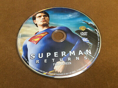 Superman Returns (DVD, 2006, Full Frame Edition)Disc Only 22-81