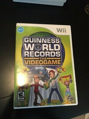 Guiness World Records (Nintendo Wii 2008 E-everyone ) The Video Game