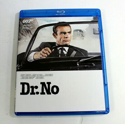 Dr. No - Blu Ray - 007 James Bond Sean Connery (Preowned - Region A)