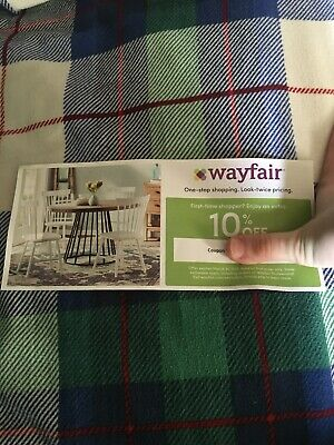 Wayfair Coupon 10% Off Entire Purchase Expires March 31st 2019
