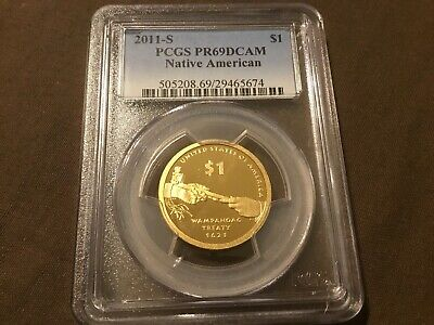 2011-S Sacagawea Native American Dollar PR69DCAM PCGS Proof 69 Deep Cameo