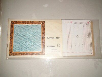 Knitting Machine Accessory's Punch Cards For Standard Gauge Machines Series 52