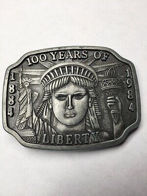 100 years of liberty 1984 liberty collection belt buckle Limited Edition AR34