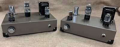 2 mono Single-ended stereo 45 tube audio amplifier W/ Tamura output Transformers