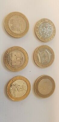 Various Rare £2 Two Pound Coins For The Royal Mint Album & Collectors